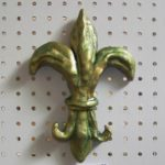 sculpey clay projects fleur de lis