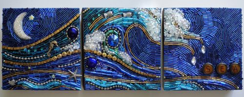 mixed media mosaic art ideas