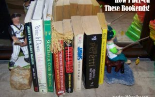How To Create Bookends: Your Paperbacks Will Be Sitting Pretty!