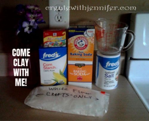 oven bake clay recipe