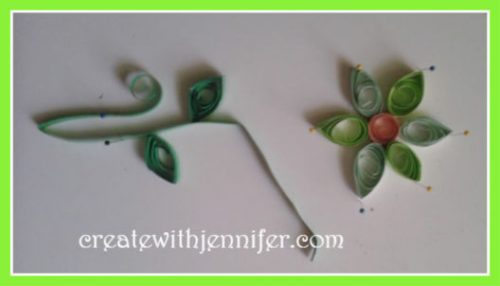 handmade quilling on cards beginners