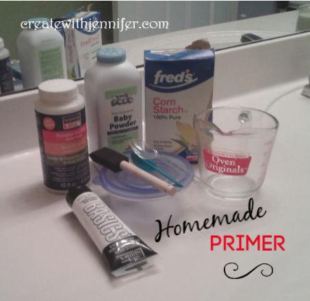 diy homemade primer paint ingredients