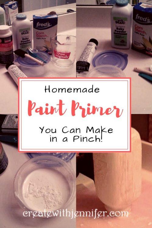 homemade paint primer