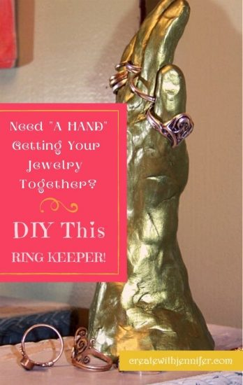 DIY ring keeper