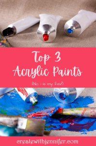 best acrylic paints for artists