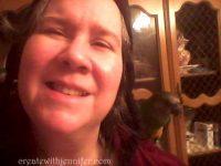 bird on my shoulder