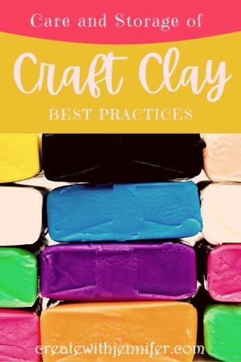 how to store your clay