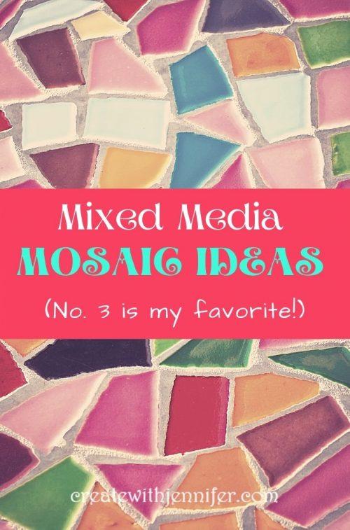 mixed media mosaic ideas