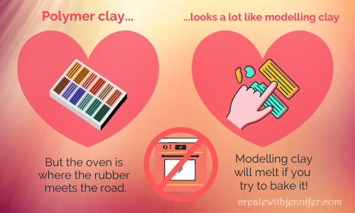 modelling polymer clay compared
