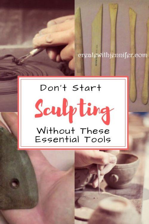 essential sculpting tools beginners